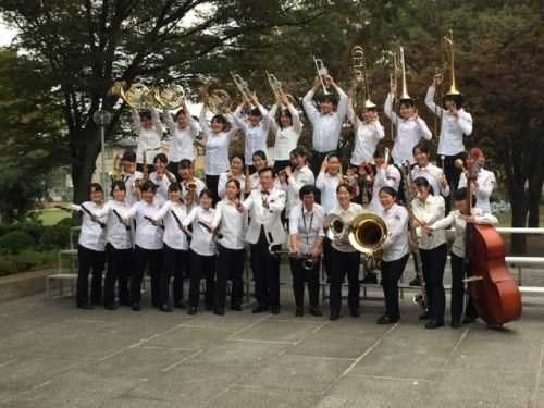 吹奏楽部2年連続で東日本学校吹奏楽大会金賞を受賞